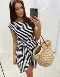 Платье короткое летнее А48189
