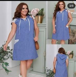 Платье короткое летнее А48191