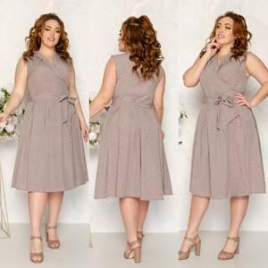 Платье короткое нарядное А48177