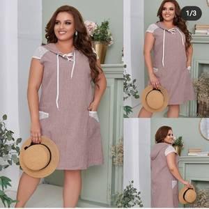 Платье короткое летнее А48193