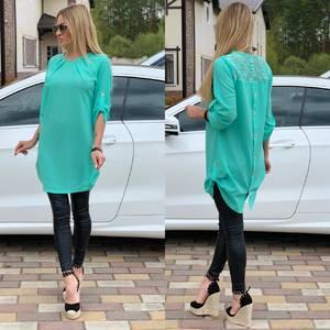 Блуза прозрачная Ц6520