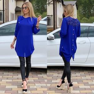 Блуза прозрачная Ц6521