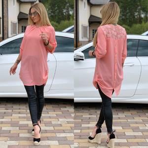 Блуза прозрачная Ц6522