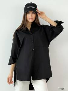 Рубашка однотонная А33886