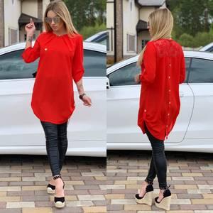 Блуза прозрачная Ц6523