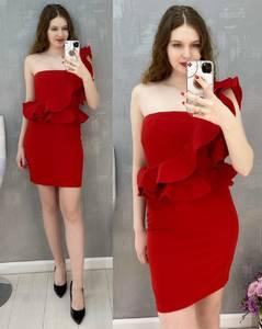Платье короткое нарядное А36803