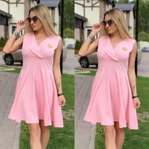 Платье короткое нарядное Ц6524