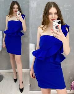 Платье короткое нарядное А36804