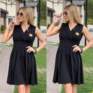 Платье короткое нарядное Ц6525