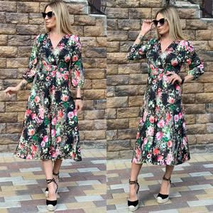 Платье длинное нарядное Ц6499