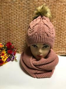 Шапка и шарф Хомут Ю1330