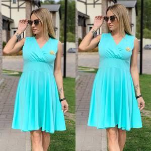 Платье короткое нарядное Ц6526