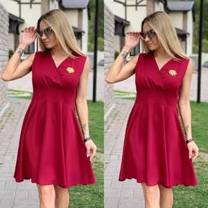 Платье короткое нарядное Ц6527