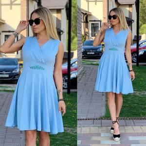 Платье короткое нарядное Ц6528