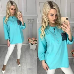 Блуза летняя Ц6395