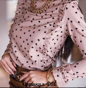 Блуза с длинным рукавом А47190