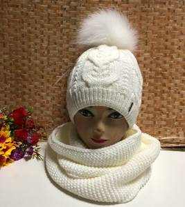 Шапка и шарф Хомут Ю1336