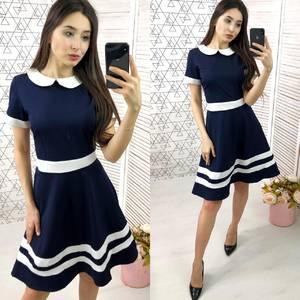 Платье короткое нарядное Ч2403