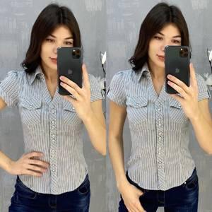 Рубашка с коротким рукавом А43481