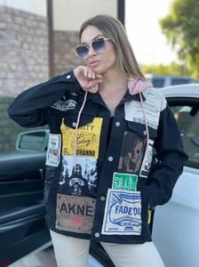 Джинсовая куртка А44407