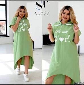 Платье короткое летнее А45993