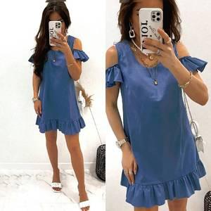 Платье короткое летнее А47781