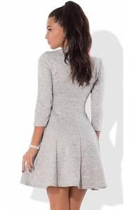 Платье короткое нарядное с рукавом 3/4 Ф8202