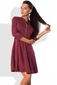 Платье короткое нарядное с рукавом 3/4 Ф8203