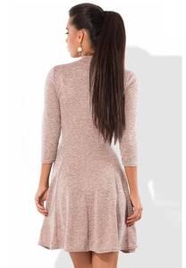 Платье короткое нарядное с рукавом 3/4 Ф8205