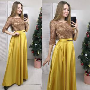 Платье длинное вечернее Ф6180
