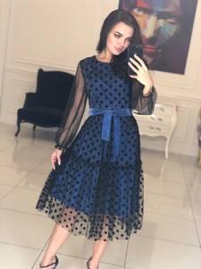 Платье короткое коктейльное современное Ф5116