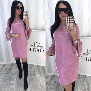 Платье короткое нарядное современное Ф6384