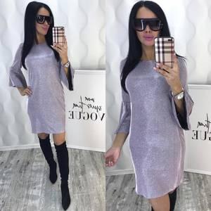 Платье короткое нарядное современное Ф6385