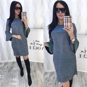 Платье короткое нарядное современное Ф6387