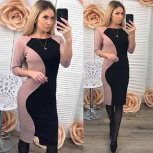 Платье короткое элегантное облегающее Ф3521