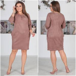 Платье короткое нарядное однотонное Ф5523