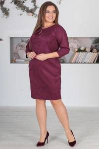 Платье короткое нарядное однотонное Ф5524