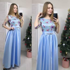 Платье длинное вечернее Ф6179