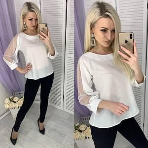 Блуза белая Х5210