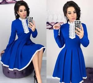 Платье короткое нарядное элегантное Х0178