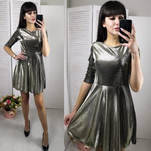 Платье короткое коктейльное современное Ф6149