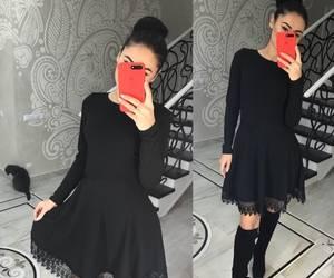 Платье короткое нарядное с длинным рукавом Х0185