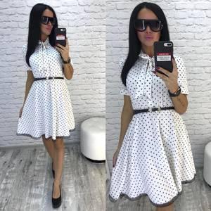 Платье короткое коктейльное летнее Ф3224