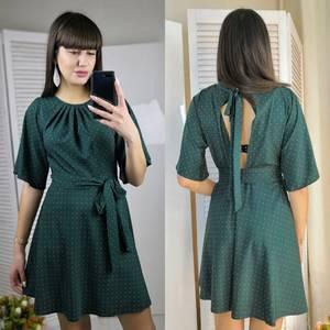 Платье короткое коктейльное современное Ф6158