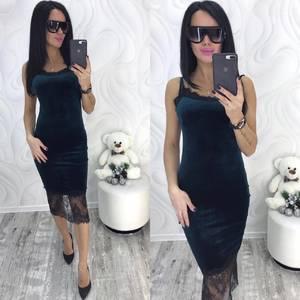 Платье короткое вечернее облегающее Ф8719