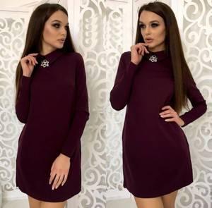Платье короткое нарядное элегантное Ф3446