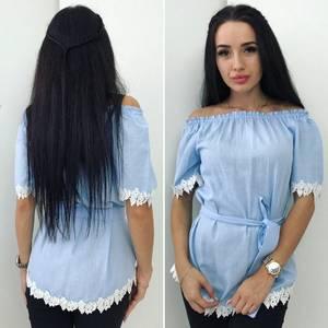 Блуза с коротким рукавом Ц3603