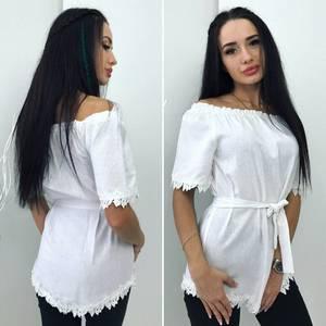 Блуза с коротким рукавом Ц3605