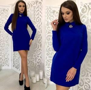 Платье короткое нарядное элегантное Ф3447