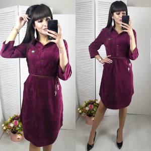 Платье короткое нарядное однотонное Ф6141
